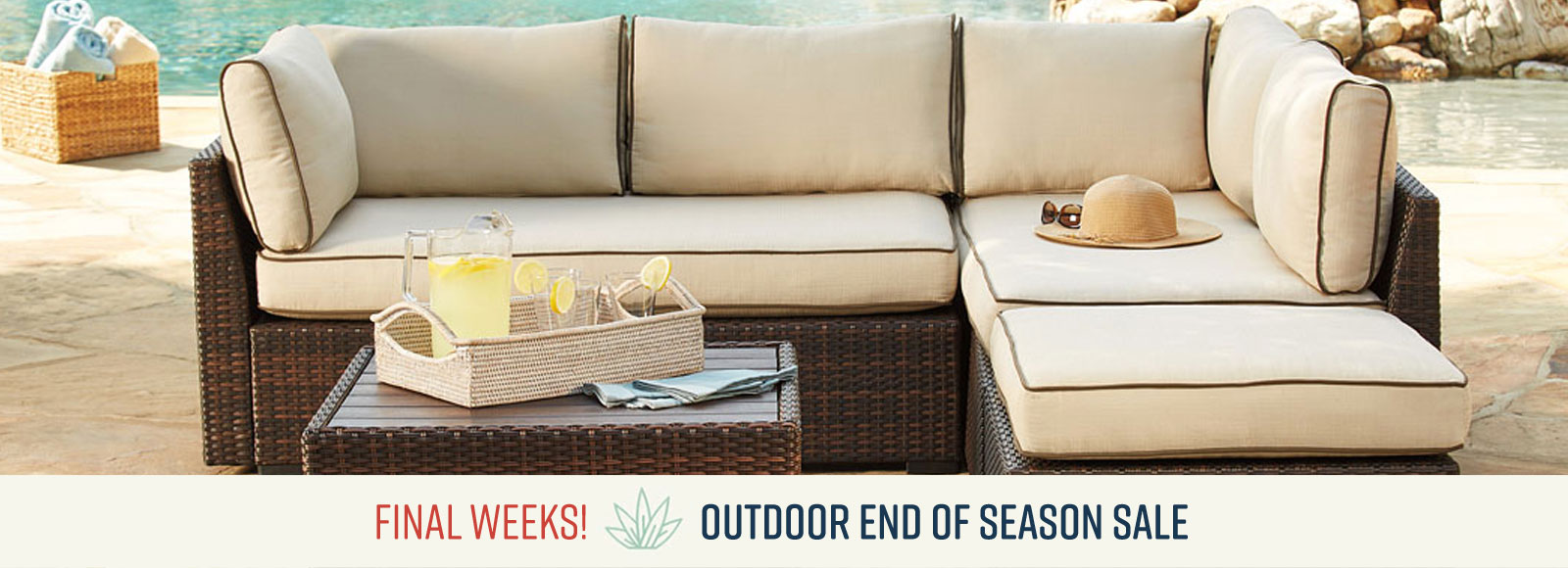 End of Season Outdoor Sale